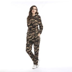 One piece Hoodie with Trousers camouflage